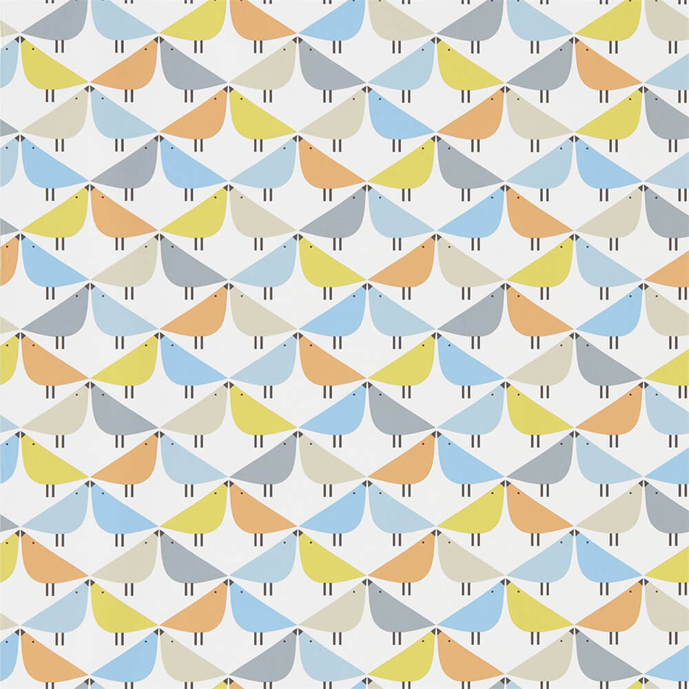 Lintu Satsuma Sky Pebble Wallpaper, Scion, Noukku, Wall to Wall Wallpaper | Contemporary Wallpaper Online NZ