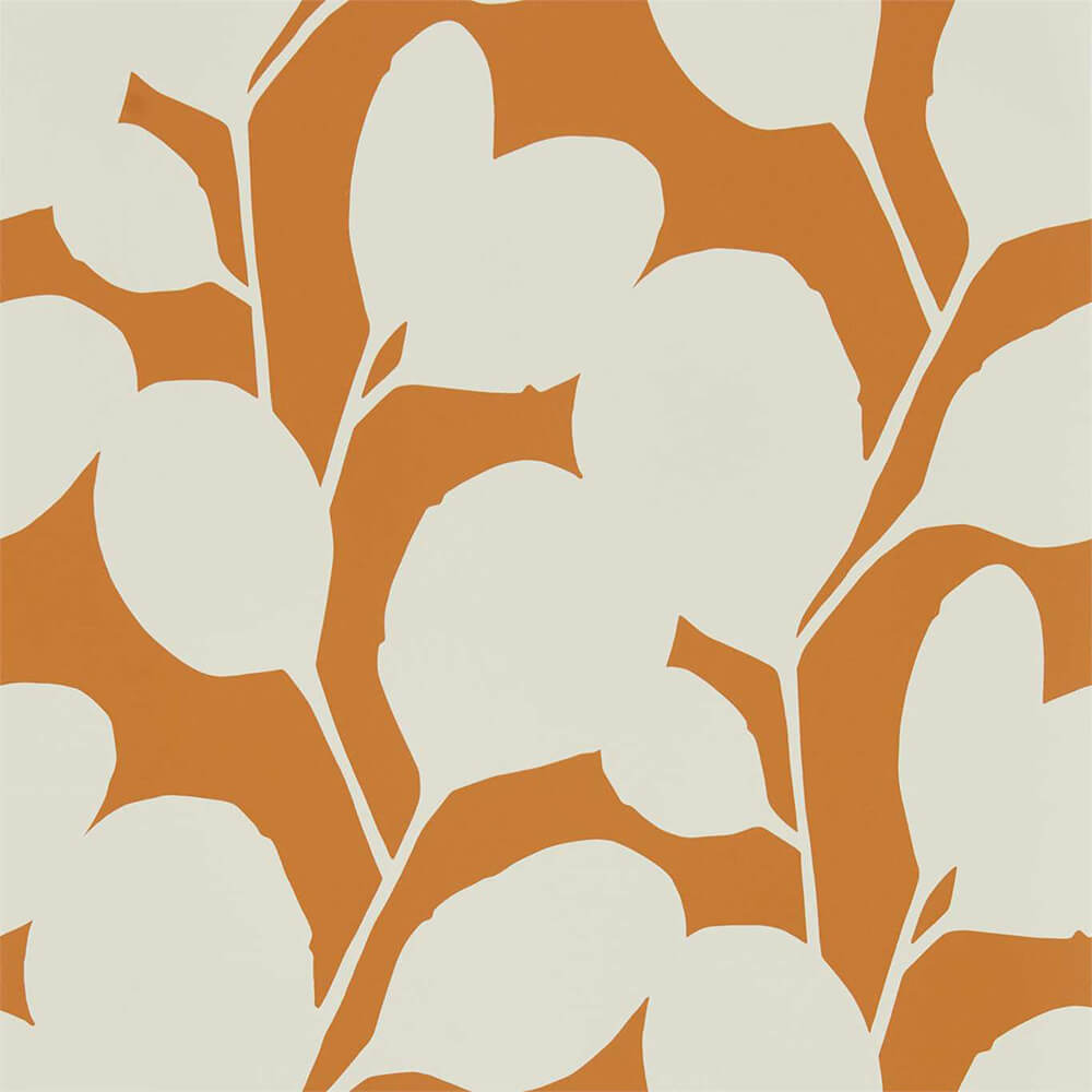 Ocotillo Paprika Wallpaper, Scion, Nuevo, Wall to Wall Wallpaper | Contemporary Wallpaper Online NZ