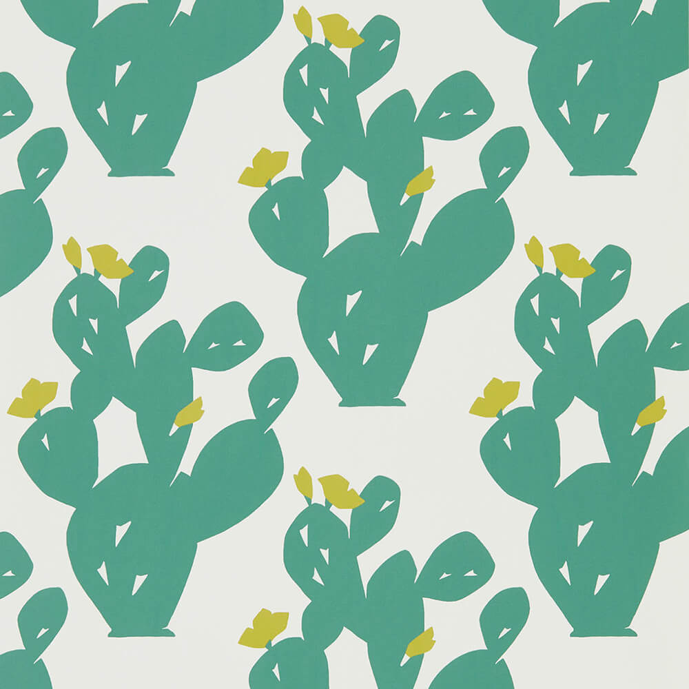 Opunita Forest Lime Wallpaper, Scion, Nuevo, Wall to Wall Wallpaper | Contemporary Wallpaper Online NZ