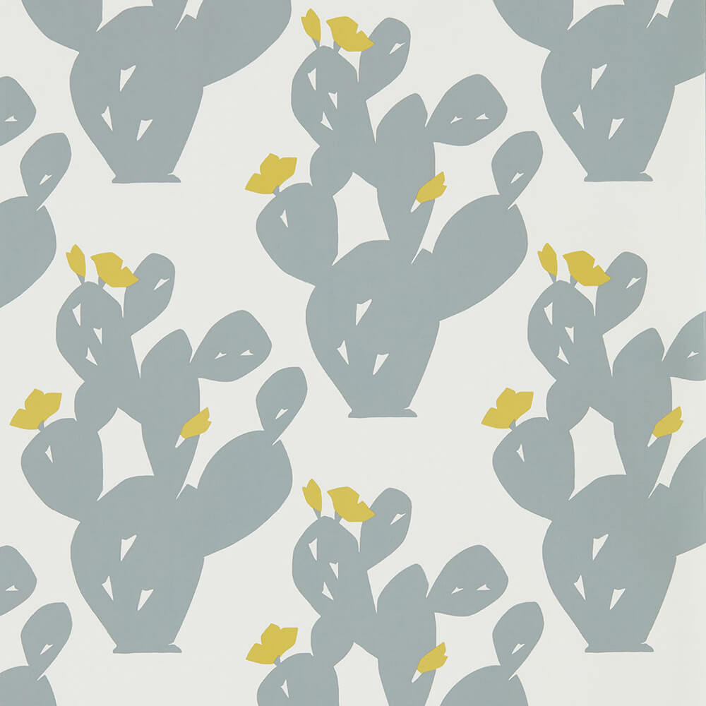 Opunita Slate Dandelion Wallpaper, Scion, Nuevo, Wall to Wall Wallpaper | Contemporary Wallpaper Online NZ