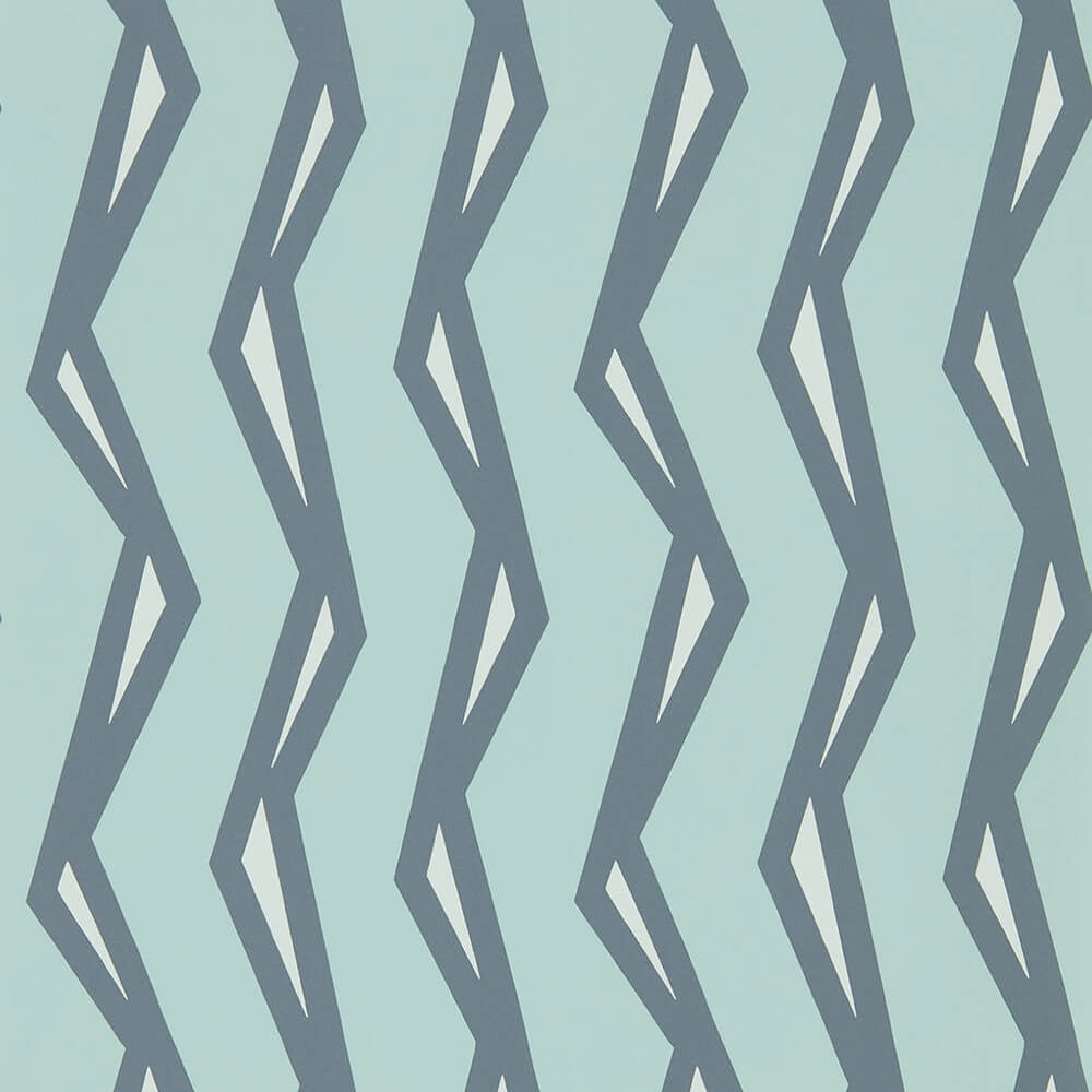 Rayo Mist Denim Wallpaper, Scion, Nuevo, Wall to Wall Wallpaper | Contemporary Wallpaper Online NZ