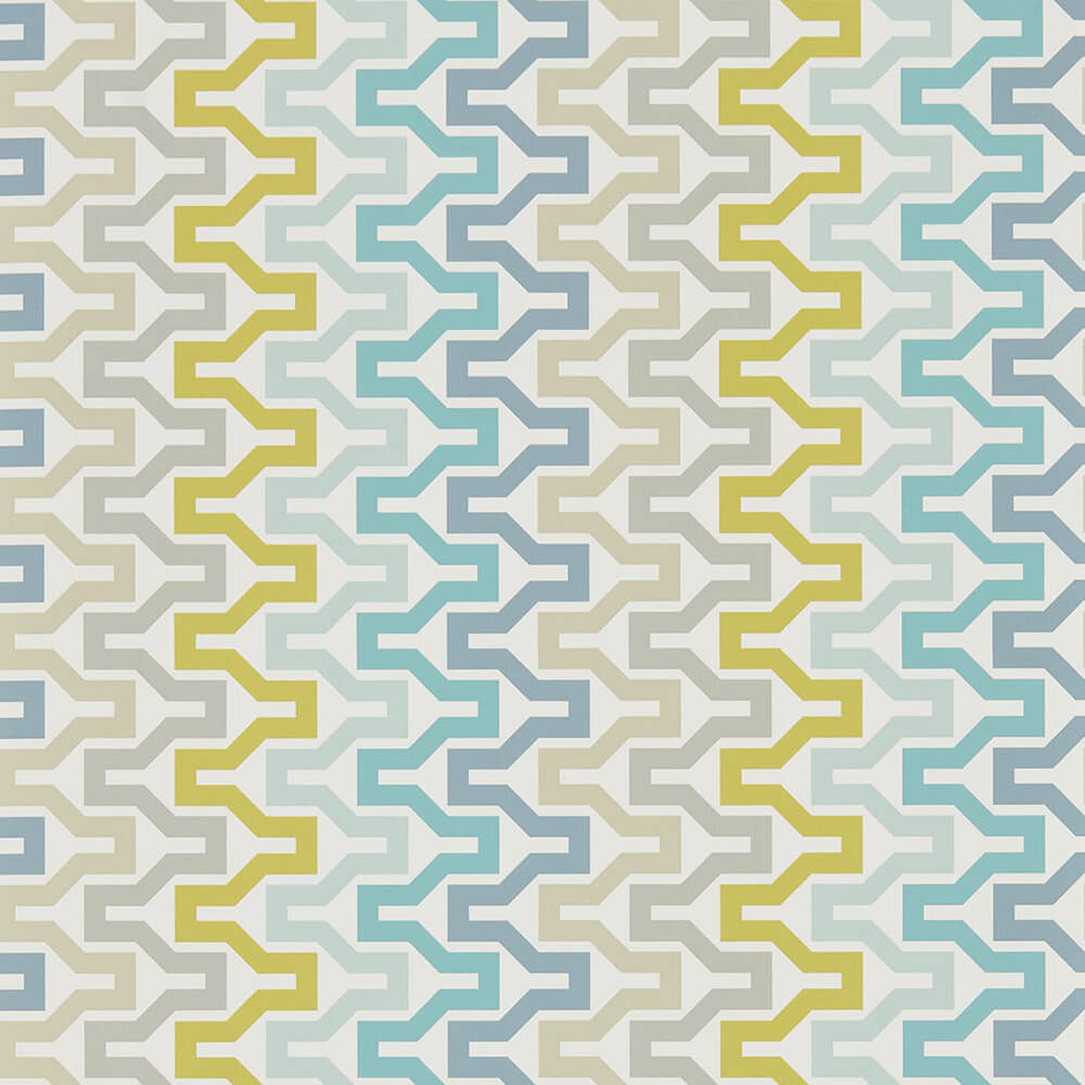 Sioux Marine Midnight Kiwi Wallpaper, Scion, Nuevo, Wall to Wall Wallpaper | Contemporary Wallpaper Online NZ