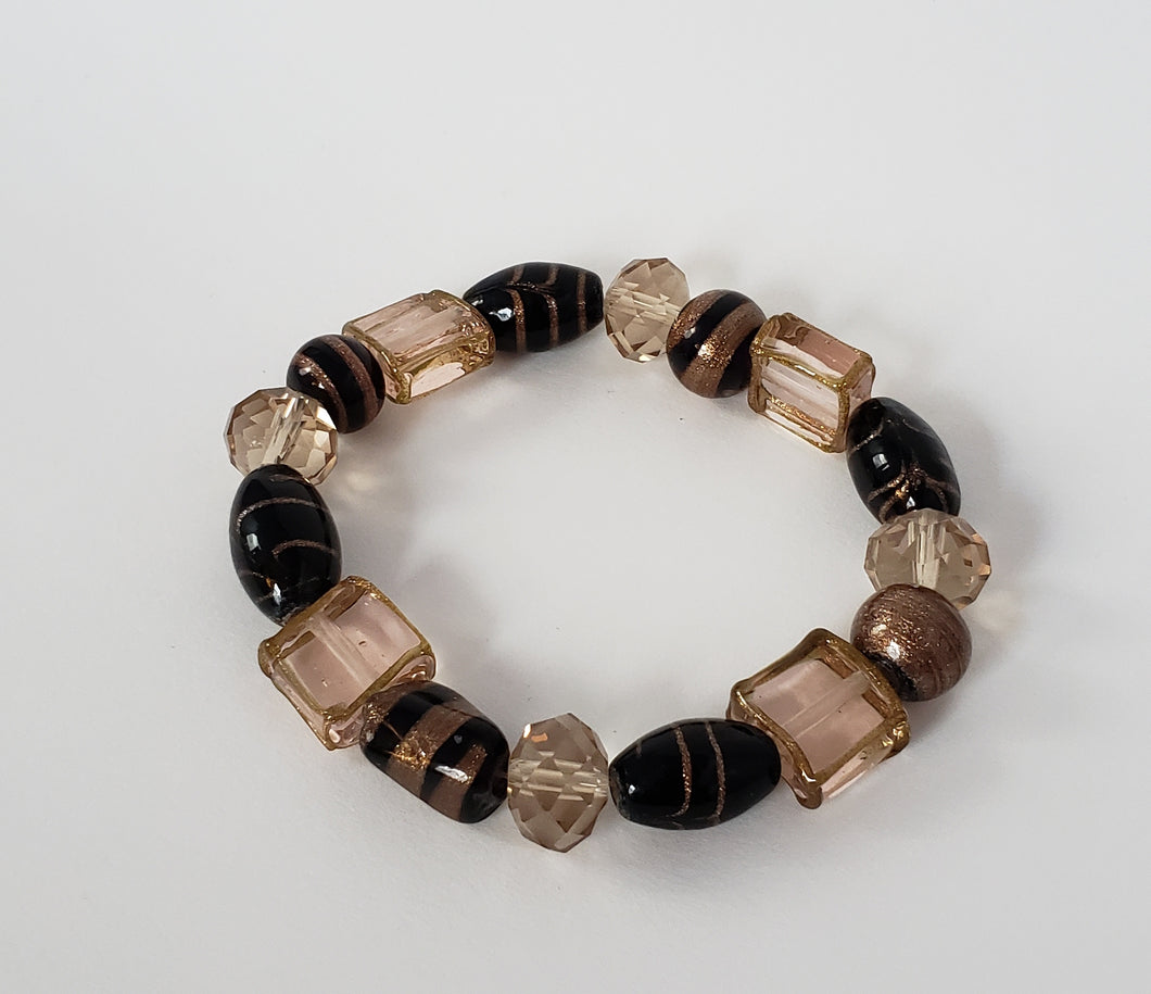 Copper & Brown Bracelet