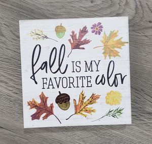 Fall is My Favorite Color