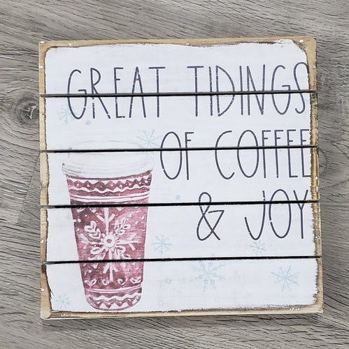 Great Tidings of Coffee