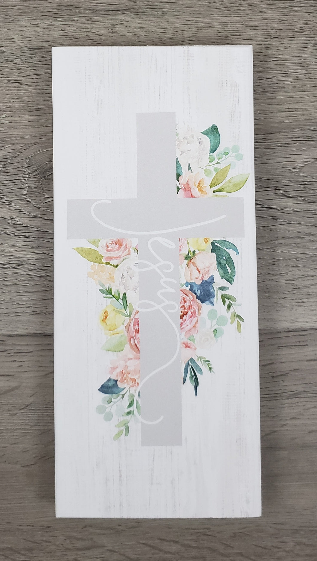Jesus Floral Cross