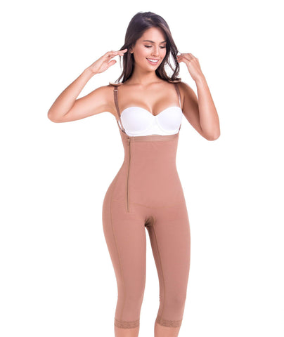 Ref. 9442 Faja Postquirúrgica Semi-Invisible Con Tacto Frio