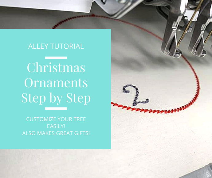 STEP BY STEP CHRISTMAS ORNAMENTS