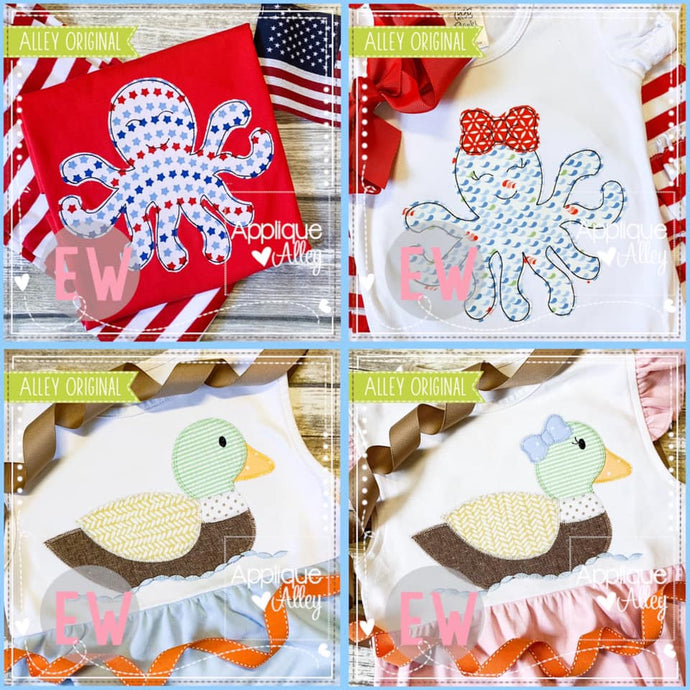 ​MINI DUCK AND OCTOPUS BUNDLE AAEW