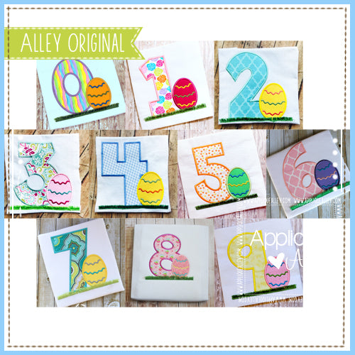AA EASTER EGG NUMBER SET