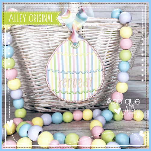 EASTER EGG BAG TAG 2 5434AAEH