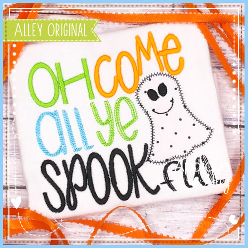 OH COME ALL YE SPOOKFUL 5065AAEH