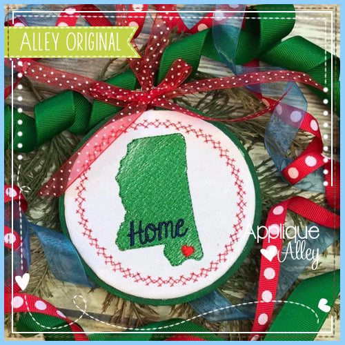 MISSISSIPPI ORNAMENT 4924AAEH