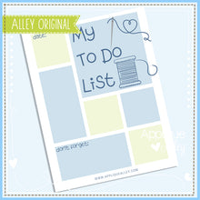 Load image into Gallery viewer, FREE! ALLEY TO DO LIST PRINTABLE 5176AAEH