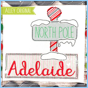 NORTH POLE NAME PLATE 5190AAEH