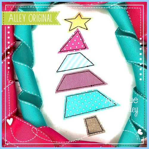 PIECED FUNKY CHRISTMAS TREE 5033AAEH