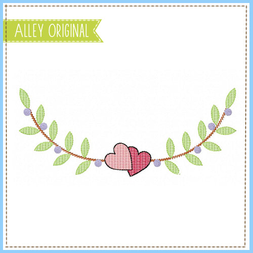 SCRATCHY VALENTINE BRANCHES FRAME 5281AAEH