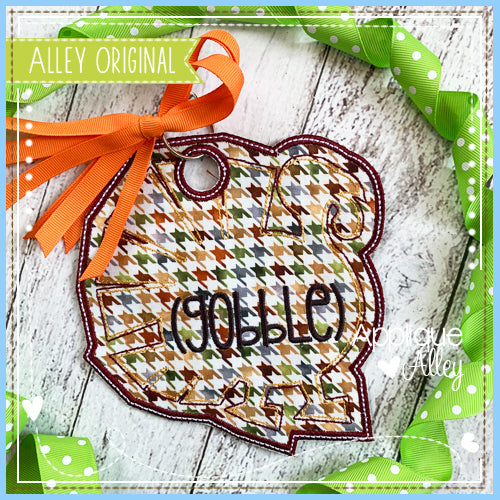 TURKEY OUTLINE BAG TAG 5056AAEH