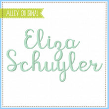 Load image into Gallery viewer, ELIZA SCUYLER FONT (BX INCLUDED!) AAEH5146
