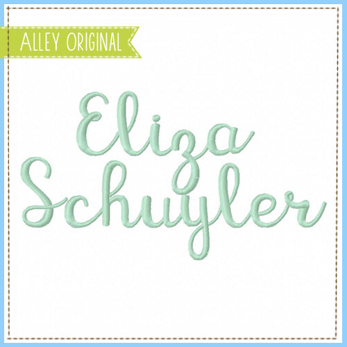 ELIZA SCUYLER FONT (BX INCLUDED!) AAEH5146