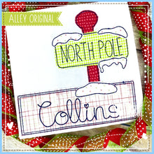 Load image into Gallery viewer, NORTH POLE NAME PLATE 5190AAEH
