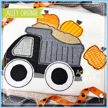 Load image into Gallery viewer, VINTAGE DUMPTRUCK WITH PUMPKINS  5037AAEH