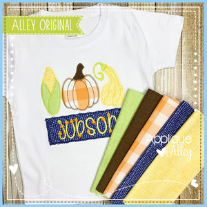 ZZ CORN PUMPKIN SQUASH WITH NAME TAG 4980AAEH