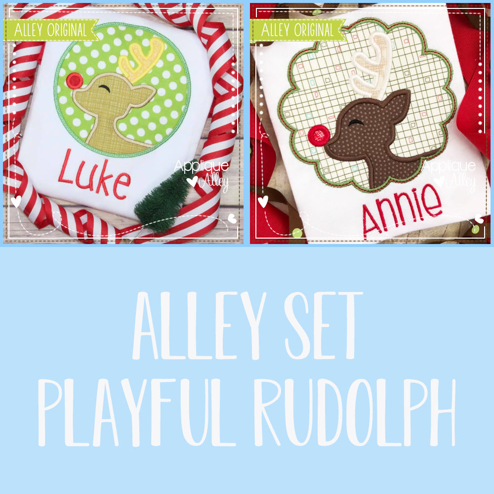 ALLEY SET PLAYFUL RUDOLPH 5103AAEH