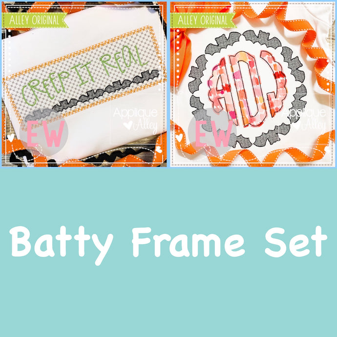 SCRATCHY BATTY FRAME SET 4946AAEW
