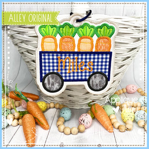 CARROT WAGON BAG TAG 5437AAEH