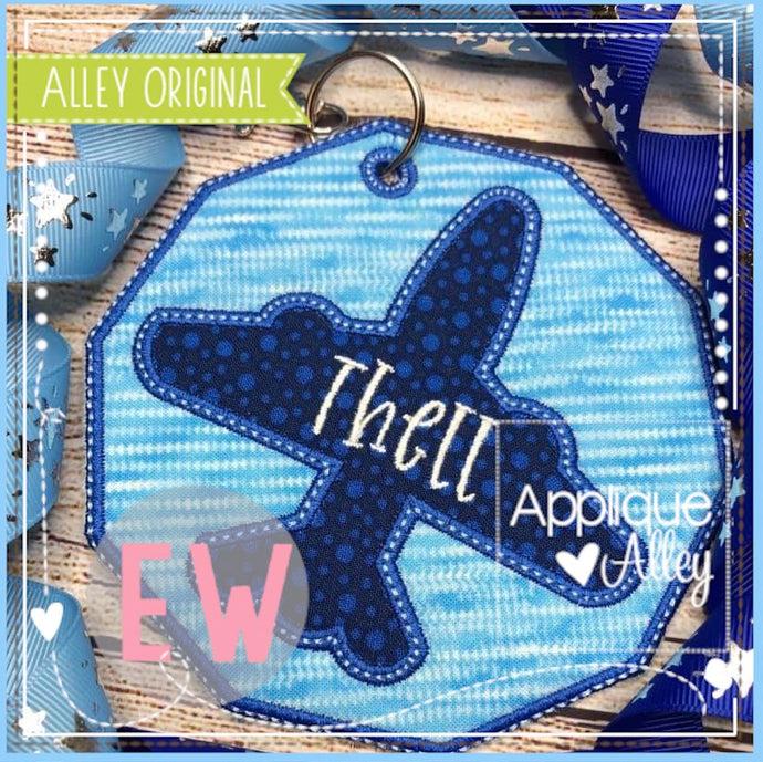 ITH AIRPLANE BAG TAG  5048AAEW