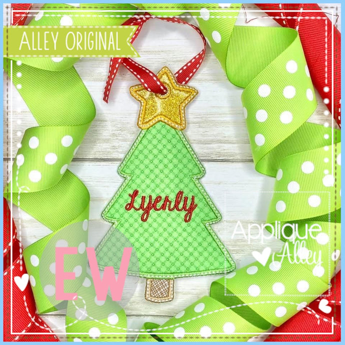 ITH CHRISTMAS TREE BAG TAG 5049AAEW