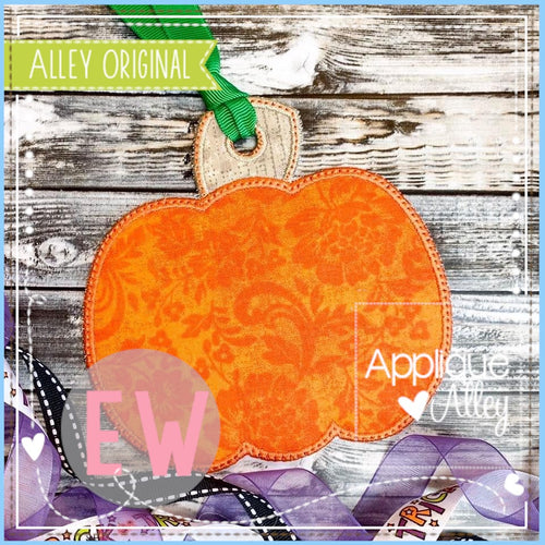 ITH PUMPKIN BAG TAG 5075AAEW