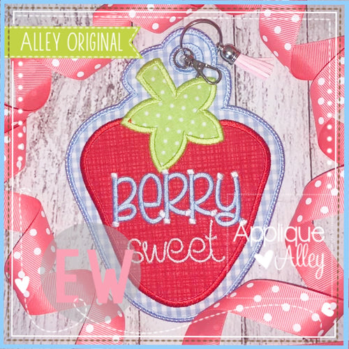 ITH STRAWBERRY BAG TAG 5596AAEW