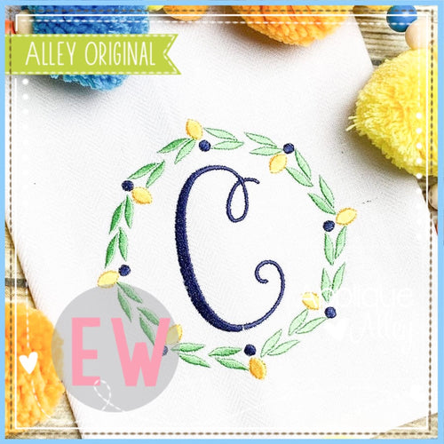 LEMON CIRCLE FRAME 5344AAEW