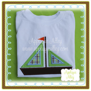 DOUBLE TRIANGLE SAILBOAT