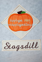 Load image into Gallery viewer, PUMPKIN IN DIAMOND WITH TAG