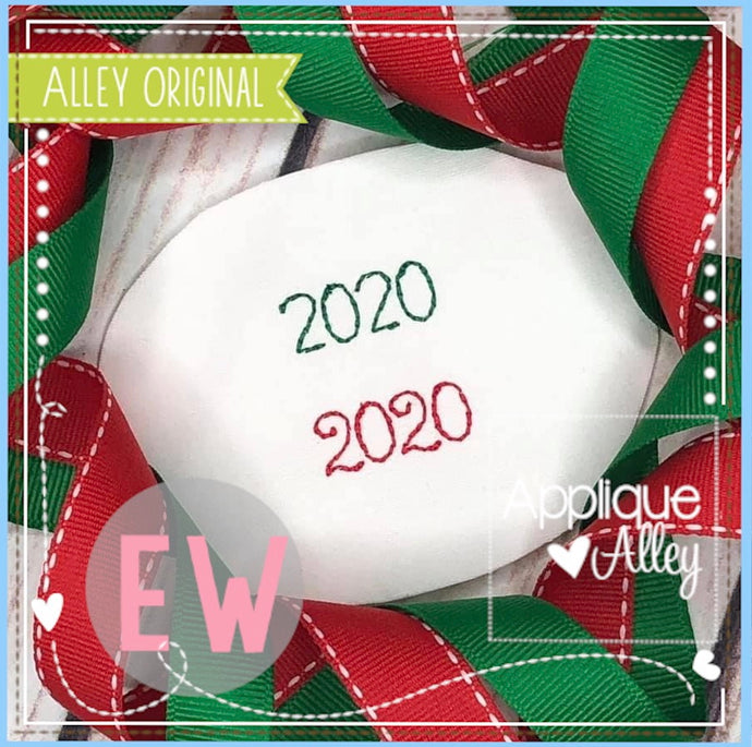 ORNAMENT 2020 ADD ON 4840AAEW