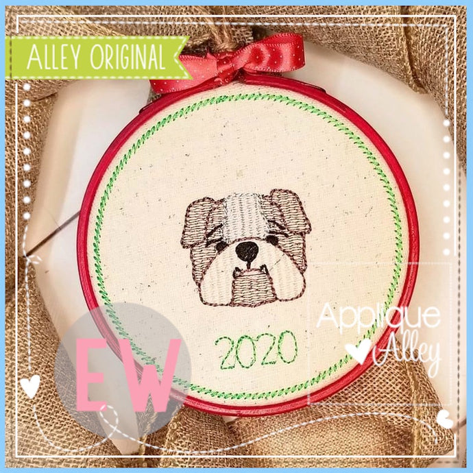ORNAMENT BABY BULLDOG 4912AAEW