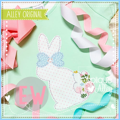 VINTAGE RABBIT BOW 5447AAEW