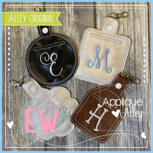 ITH FAUX LEATHER POCKET KEY CHAINS 5475AAEW