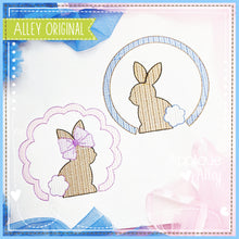 Load image into Gallery viewer, SCRATCHY CIRCLE SITTING BUNNY 5425AAEH