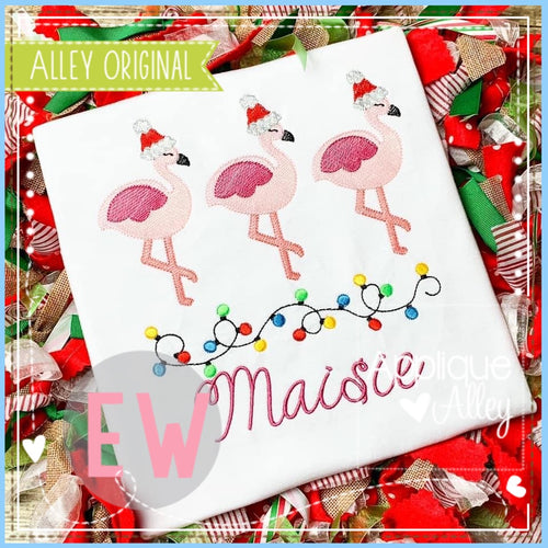 SCRATCHY JOLLY FLAMINGO TRIO 5212AAEW