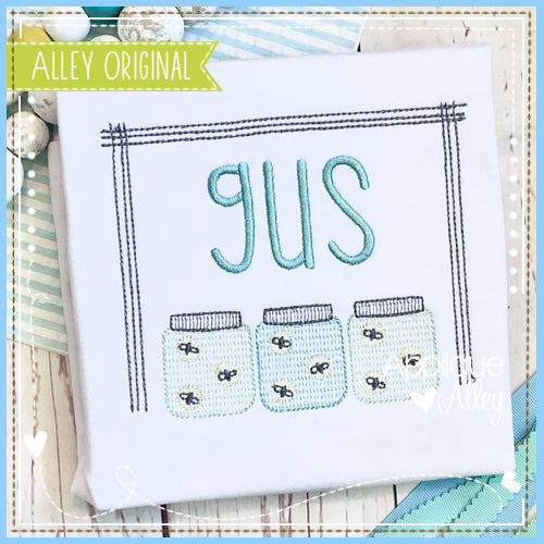 STIX FRAME WITH LIGHTNING BUG JARS 5573AAEH