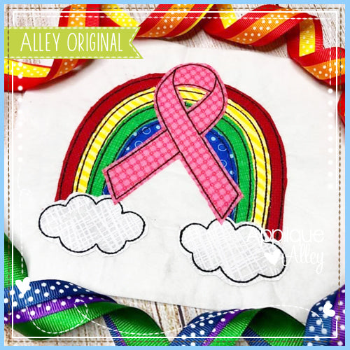 VINTAGE AWARENESS RIBBONS RAINBOW 5367AAEH