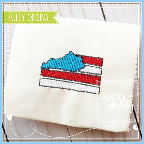 MINI KENTUCKY FLAG 4874AAEH