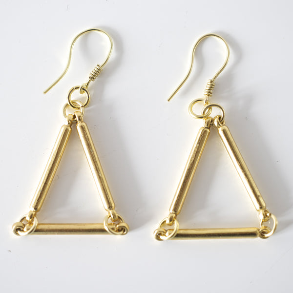 Unicorn Triangle Earring