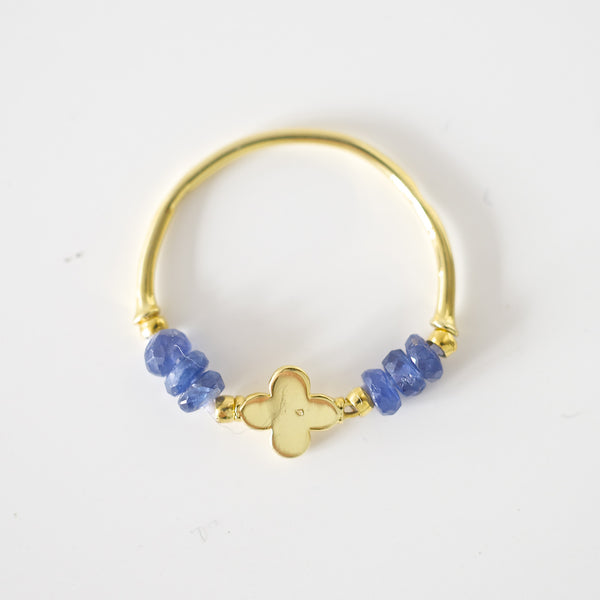 CHARM RAW SAPPHIRE RING