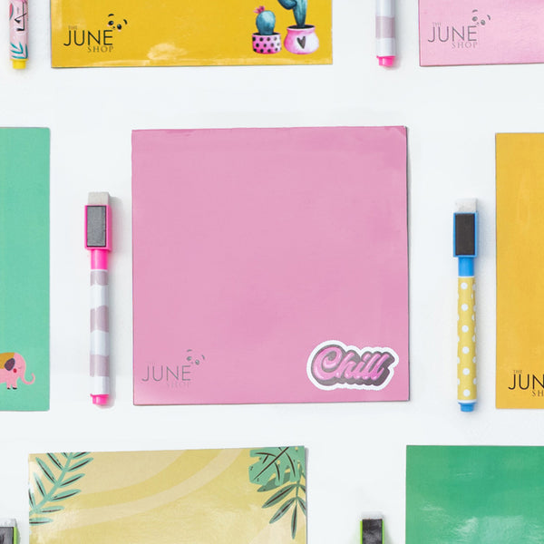 Pink Chill - Magnetic Board Sheet (Rewritable)