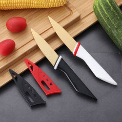 Fruit Knife with Safety Sheath
